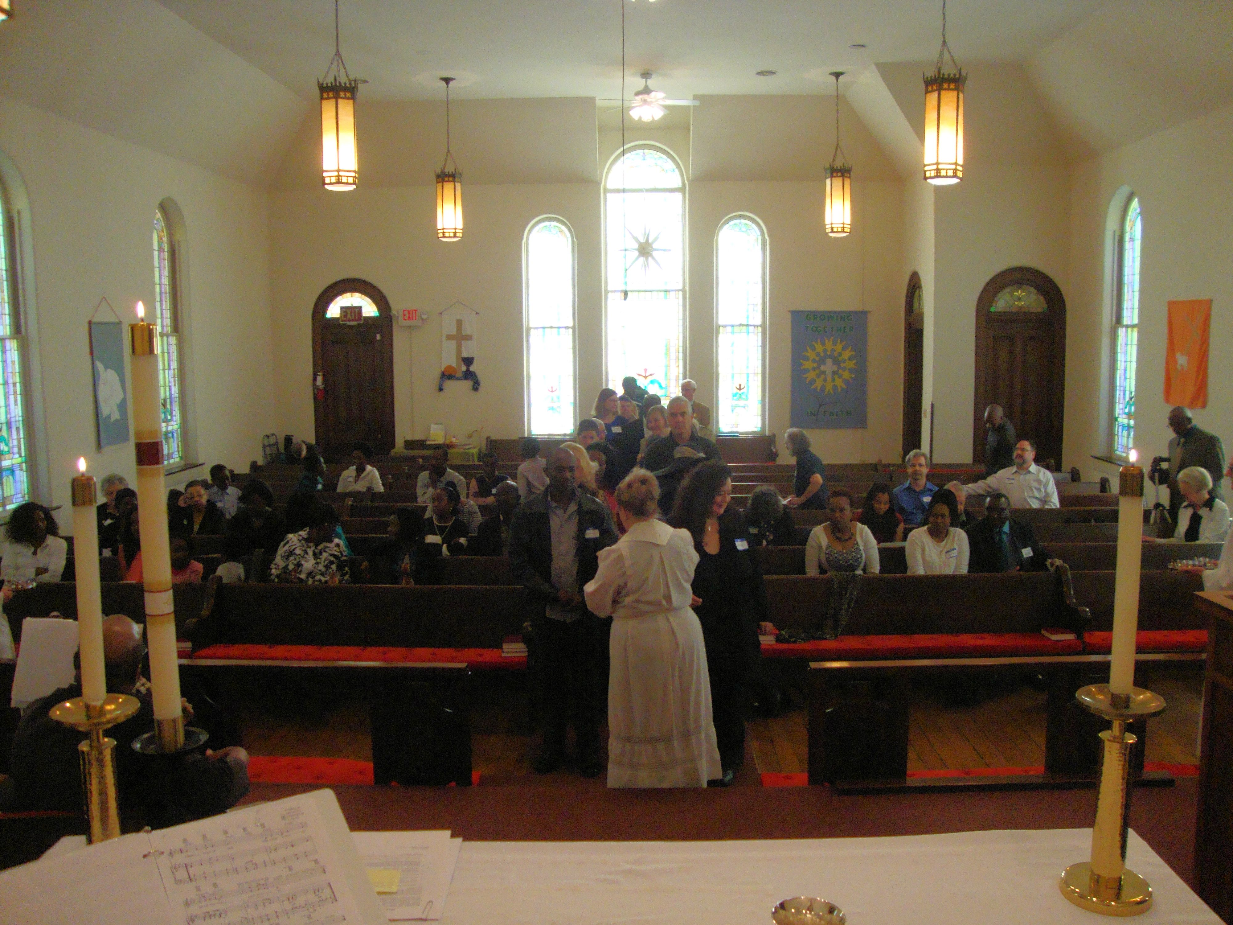 Pastor Bonnie's final service at Salem