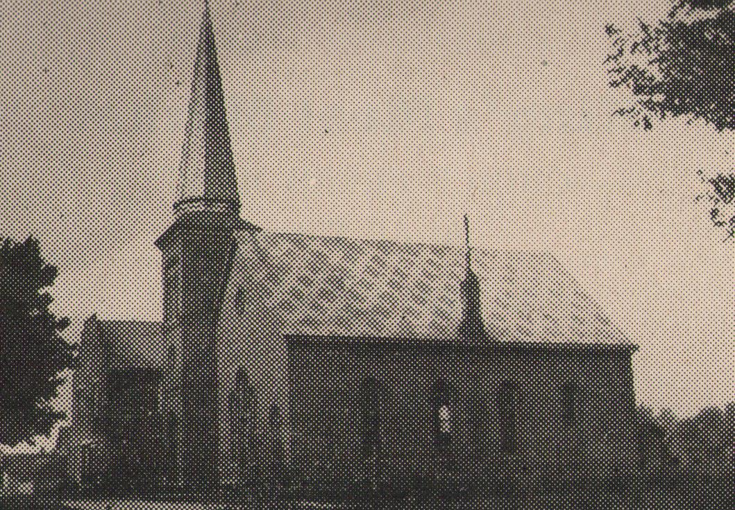 Salem Lutheran Church as dedicated in May 1880.